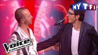 Vincent Vinel et Calogero - «Je joue de la musique» The Voice France 2017 Live