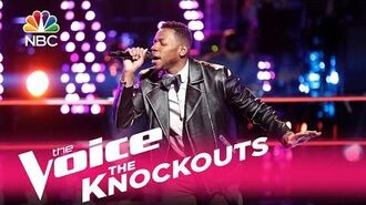 "The Voice 2017 Knockout - Chris Blue ""Superstition"""
