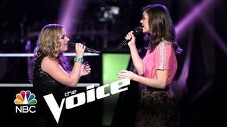 "Cary Laine vs. Sam Behymer ""Give Me Love"" (The Voice Highlight)"
