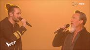 Clément Albertini en duo avec Florent Pagny