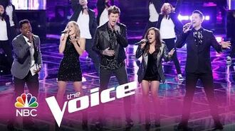 "Neon Dreams ""It's Time"" - The Voice 2017"