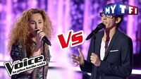 Vincent Vinel VS Guylaine «Love Me, Please Love Me» (M Polnareff) The Voice France 2017 Battle