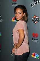 Christina Milian-at-the voice-premiere