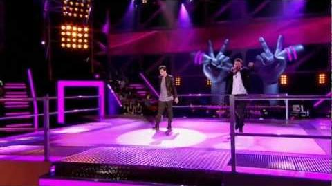 The Voice Australia Ben vs Chris