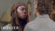 New 'The Walking Dead' Exclusive Clip Michonne Tells Rick To Read Letter From Carl (8x14)