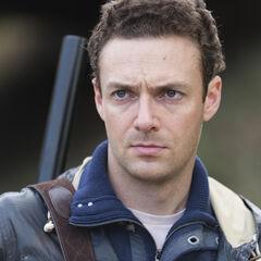 Ross Marquand en el episodio