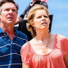 Kim Dickens como <i>Irene Whipple</i> en <i>At Any Price </i>.