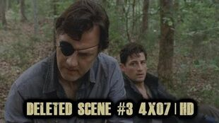 The Walking Dead Season 4 Blu Ray Deleted Scene 3 of 5 4x07 Dead Weight-0