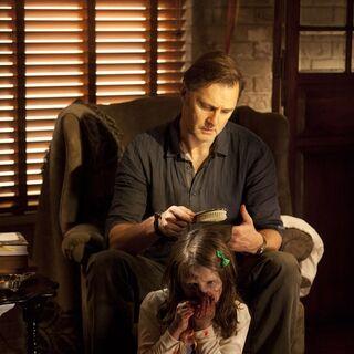 David Morrissey en el episodio