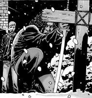 Michonne Morgan tumba