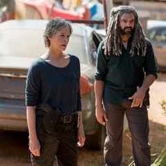 Melissa McBride en el episodio