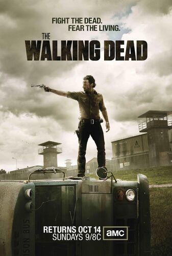 The Walking Dead Temporada 3 [2012] [720p BRrip] [Latino-Inglés] [GoogleDrive]