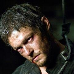 Norman Reedus como Shepard en <i>Pandorum</i>