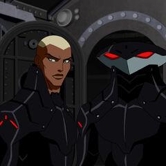 Khary Payton como <i>Aqualad</i> en <i>Young Justice</i>.