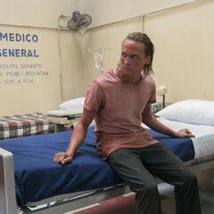 Frank Dillane en el episodio