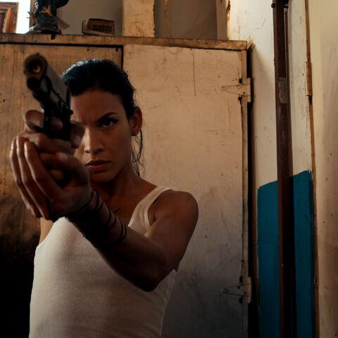Danay García como <i>Loca</i> en <i>Avenge the Crows</i>.
