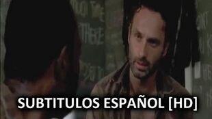 """The Walking Dead Escena Eliminada 3x12 """"Clear"""" Subtitulos en Español Subs"""