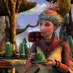 Melissa McBride como Miss Sutley en <i>Delgo</i>