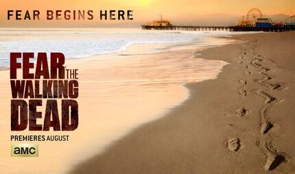 Fear The Walking Dead Comic Con 2015 Banner