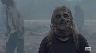 The Walking Dead Episode 10x12 Exclusive Clip - Whisperers Win