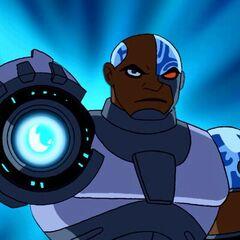 Khary Payton como <i>Cyborg</i> en <i>Teen Titans</i>.