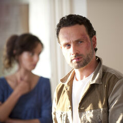 Andrew Lincoln en el episodio