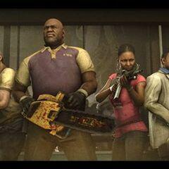 Chad Coleman como Coach en <i>Left 4 Dead 2</i>