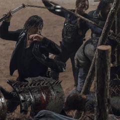Norman Reedus en el episodio