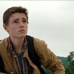 Callan McAuliffe como Sam en <i>I Am Number Four</i>