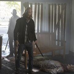 Austin Amelio en el episodio