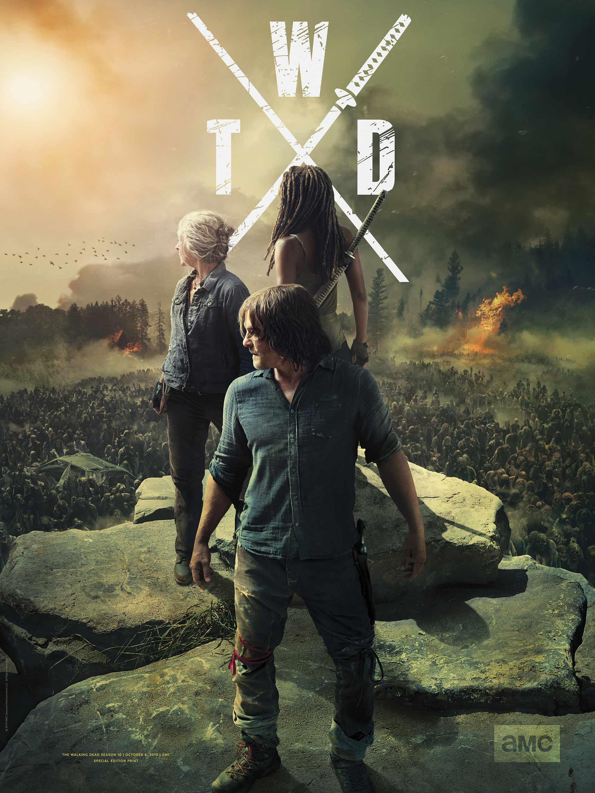 The walking dead – Temporada 10, [2019][Latino][720p][MEGA]