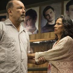 Rubén Blades en el episodio