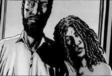 Michonne y Morgan