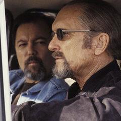 Rubén Blades como <i>Miguel</i> en <i>Assassination Tango</i>.