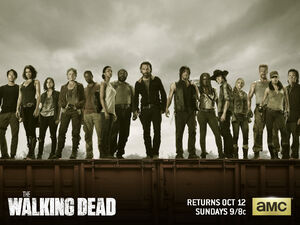 Walking Dead Cast S5