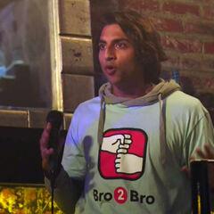 Avi Nash como Wajeed en <i>Silicon Valley</i>