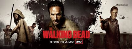 Walking dead season 3 banner
