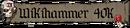 Logo Wikihammer 40k Warhammer Wikipedia Wiki 4
