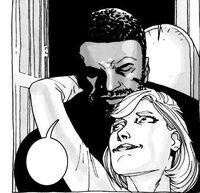 Tyreese y Carol