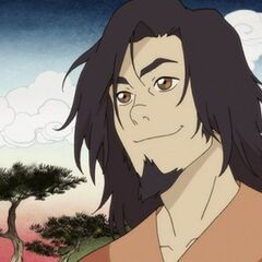 Steven Yeun como Wan en <i>Avatar:The Legend of Korra</i>