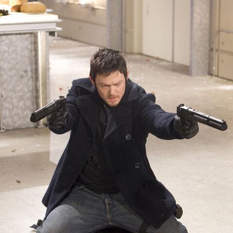 Norman Reedus como Murphy MacManus en <i>The Boondock Saints II: All Saints Day</i>