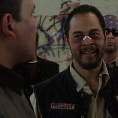 Jose Pablo Cantillo como Hector Salazar en <i>Sons of Anarchy</i>