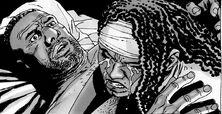 Michonne y Tyreese