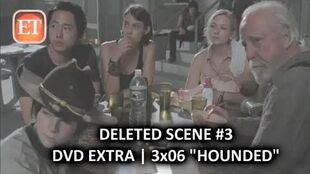 "The Walking Dead Season 3 Deleted Scene 3 3x06 ""Hounded"" Alternate Version"