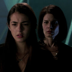 Alanna Masterson como <i>Zoe McCarthy</i> en <i>Terminator: The Sarah Connor Chronicles</i>.