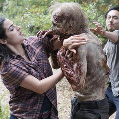 Alanna Masterson en el episodio