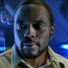 Chad Coleman como Queeg en <i>Terminator: The Sarah Connor Chronicles</i>