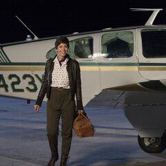 Mercedes Mason como <i>Dot Bingham</i> en <i>The Astronaut Wives Club</i>.
