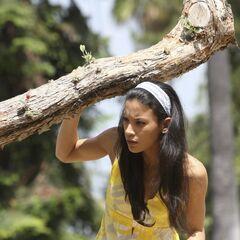 Danay García como <i>Michelle Lopez</i> en <i>Rehab</i>.