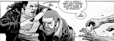 Negan y Rick 163